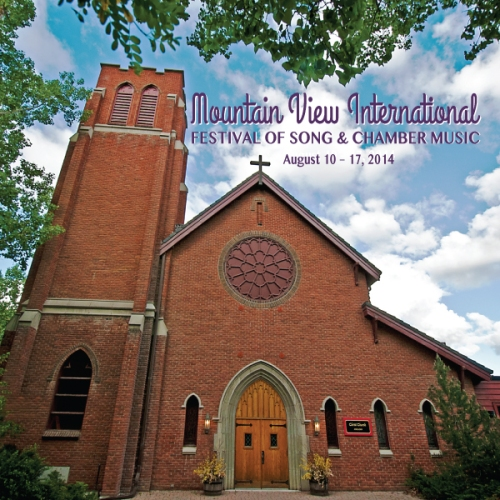 Mountain View Festival 2014 Summer Calendar