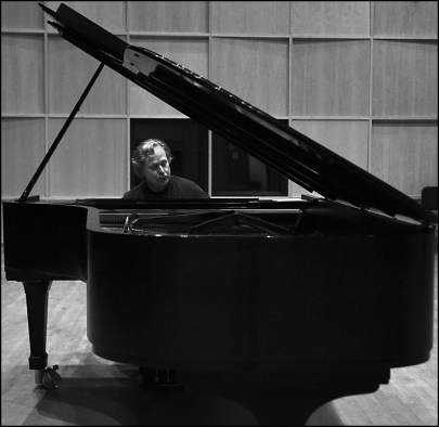 Charles in Rozsa at piano